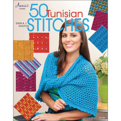 Annie's Books 50 Tunisian Stitches - Happy Ewe