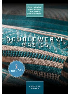 'Doubleweave Basics' DVD - Happy Ewe