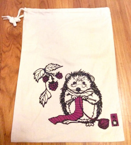 Hedgehog Project Bag