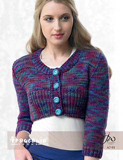 Araucania Yarns Button Up Shrug A7-01