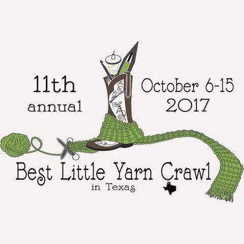 2017 Hill Country Yarn Crawl Oct 6-15