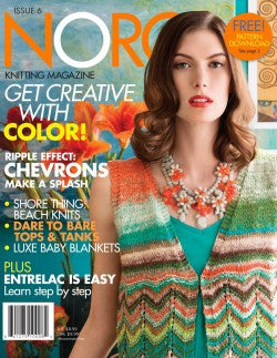 Noro Knitting Issue 6 Magazine - Happy Ewe - 1