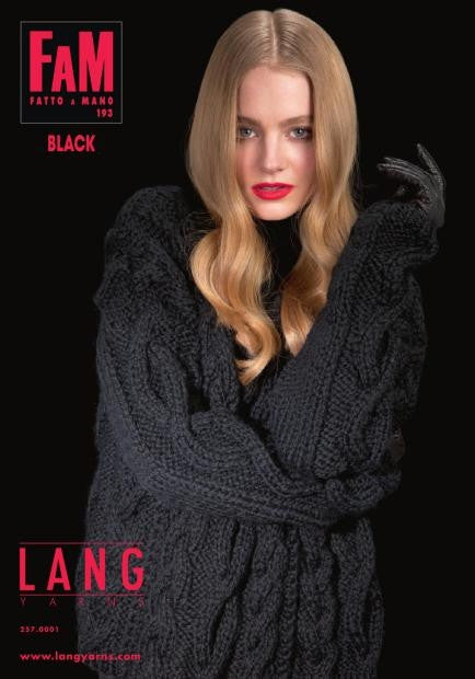 Lang Fatto a Mano 193 Black - Happy Ewe - 1
