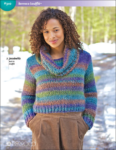 Berroco Soufflé Pattern #310 - Happy Ewe - 1