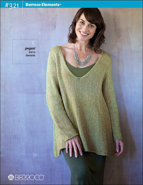 Berroco Elements® Pattern #321 - Happy Ewe - 1