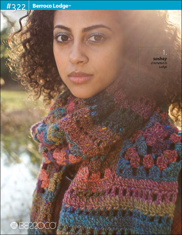 Berroco Lodge® Pattern #322 - Happy Ewe - 1