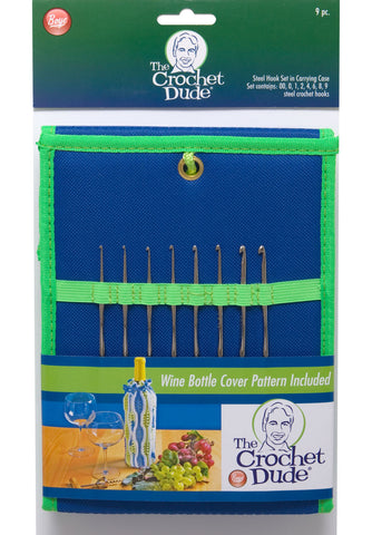 The Crochet Dude Steel Hook Set - Happy Ewe
