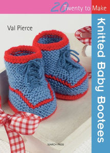 Knitted Baby Booties (Twenty to Make)