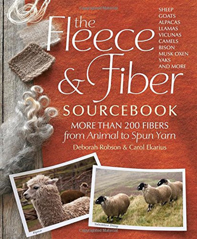 The Fleece & Fiber Sourcebook - Happy Ewe
