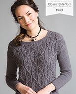 Classic Elite Yarn Designs in Escape 1707