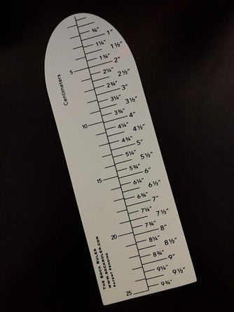 The Sock Ruler - Happy Ewe - 1