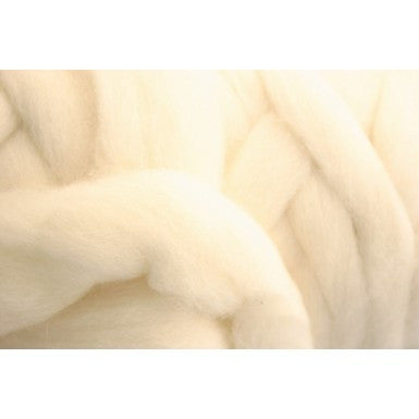 Ashford NZ Carded Corriedale Sliver - Happy Ewe - 1