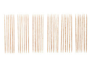 "Knit Picks 5"" Sunstruck Wood Double Pointed Knitting Needle Set - Happy Ewe"