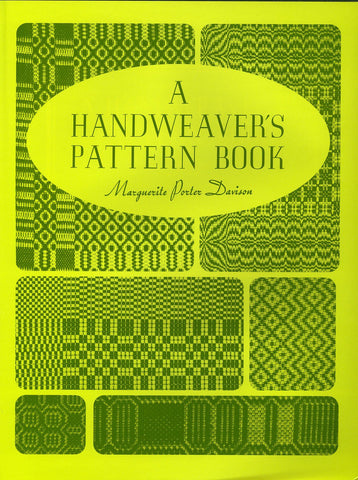 A Handweaver's Pattern Book - Happy Ewe