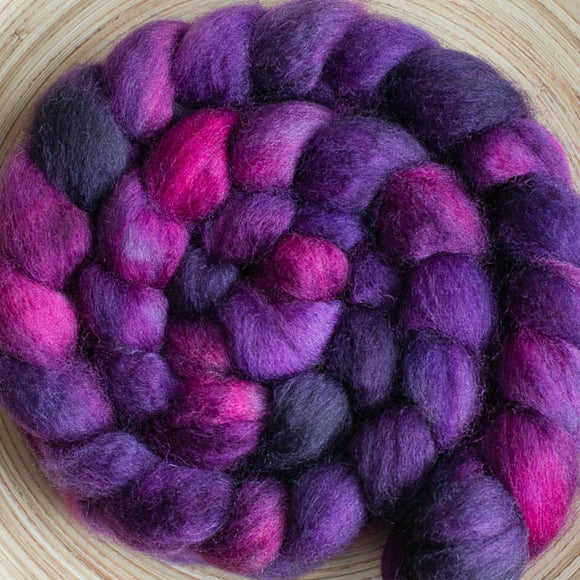 Sweet Georgia BFL+Silk - Happy Ewe - 1