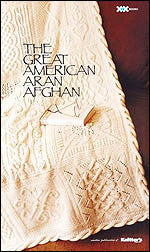 The Great American Aran Afgan Book - Happy Ewe
