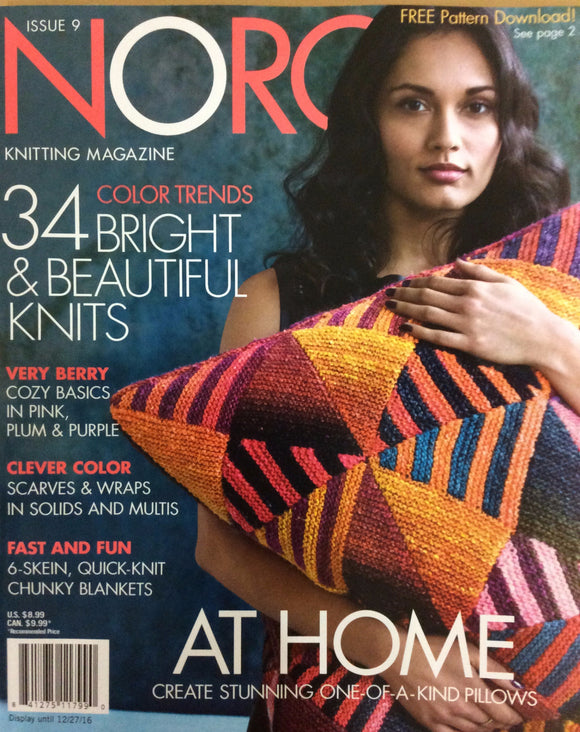 Noro Knitting Issue 9 Magazine - Happy Ewe