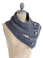 Blue Sky Alpacas Traveler's Series Tri Button Cowl