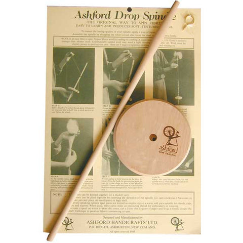 Ashford Classic Drop Spindle - Happy Ewe