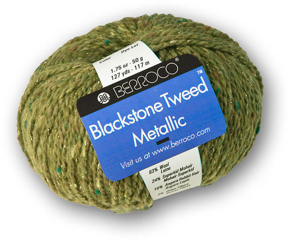 Berroco Blackstone Tweed® Metallic Yarn - Happy Ewe - 1