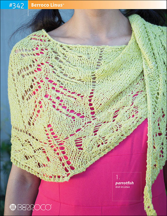Berroco Linus™ Pattern #342 - Happy Ewe - 1