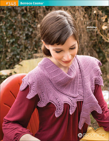 Berroco Cosma™ Pattern #348 - Happy Ewe - 1