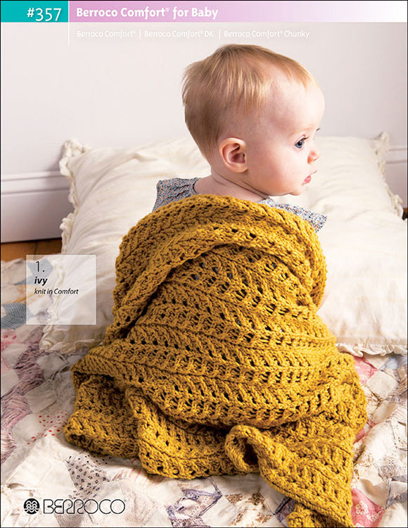 Berroco Comfort for Baby #357 - Happy Ewe - 1