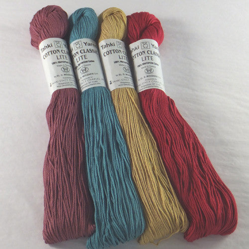 Tahki Yarns Cotton Classic Lite - Happy Ewe - 1