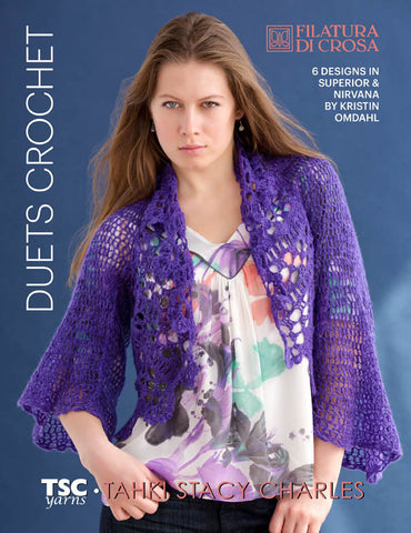 Filatura Di Crosa Duets Crochet Collection - Happy Ewe - 1