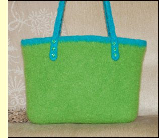 Dovetail Designs Felted City Bag C3.4 - Happy Ewe