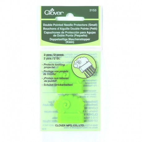 Clover Double Pointed Needle Protectors - Happy Ewe - 1