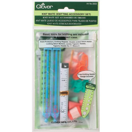 Clover Knit Mate Knitting Accessory Set - Happy Ewe