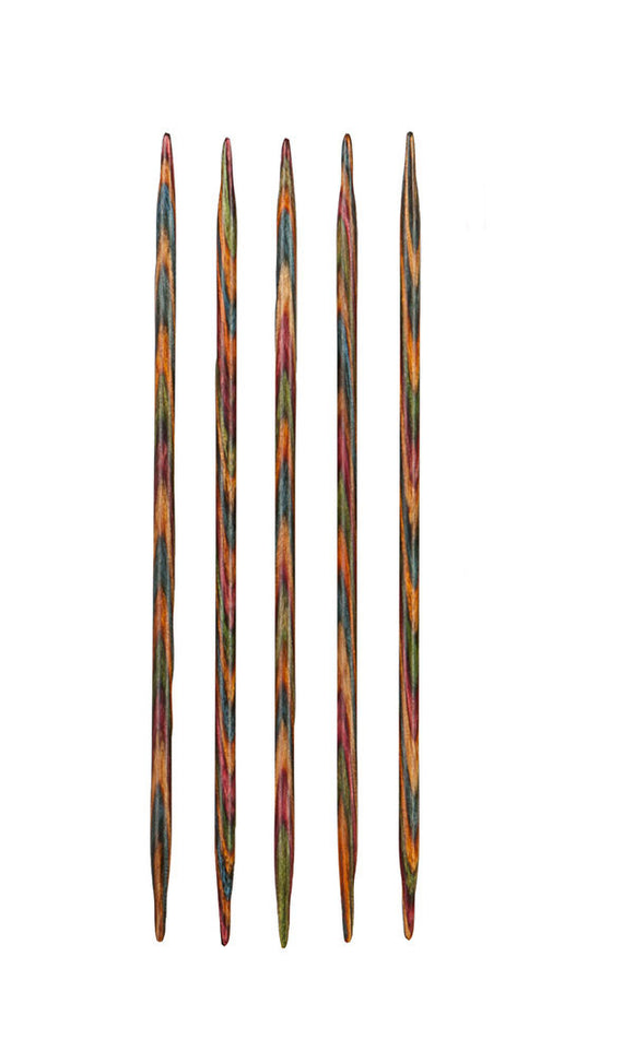 Knit Picks Rainbow Wood Double Pointed Knitting Needles - Happy Ewe