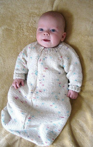 Knitting Pure & Simple - Baby Sleeping Bag KPS103 - Happy Ewe
