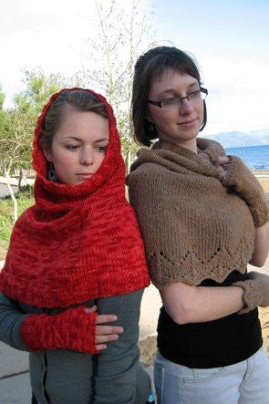 Knitting Pure & Simple Scarf/Hood & Wrist Warmer KPS108 - Happy Ewe