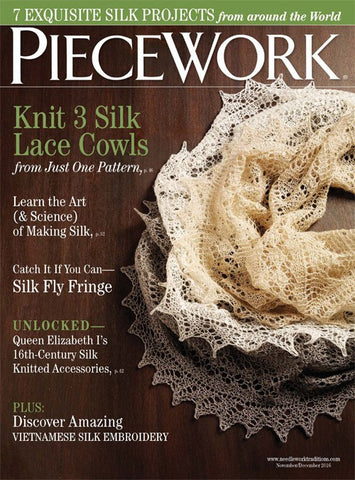 Piecework Magazine - Happy Ewe - 1