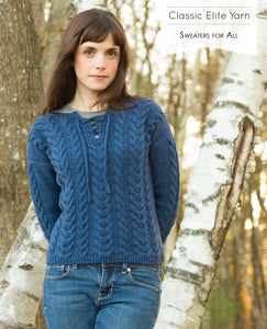 Classic Elite Yarns Sweaters for All 1709B