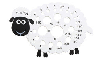 HiyaHiya Sheep Needle Gauge - Happy Ewe