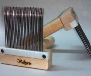 Valkyrie Super Fine Three Row Mini Combs
