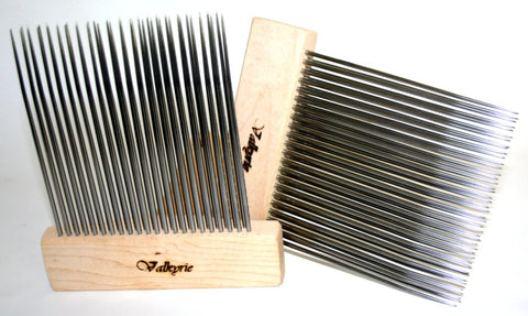 Valkyrie Extra Fine Double Row Mini Combs