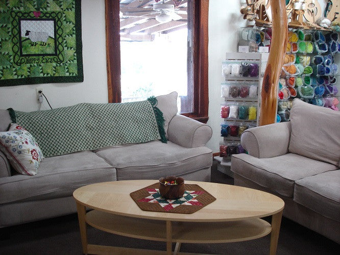 Comfy Couches at Happy Ewe