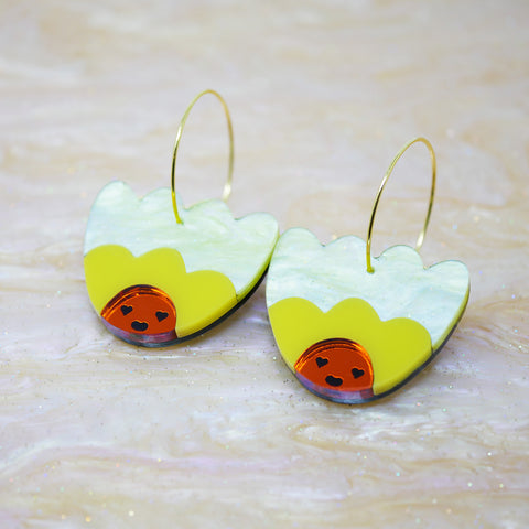 Bloomin' Marvellous Drop Earrings