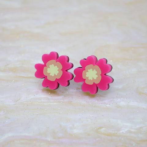 Bloomin' Marvellous Stud Earrings – Anemone