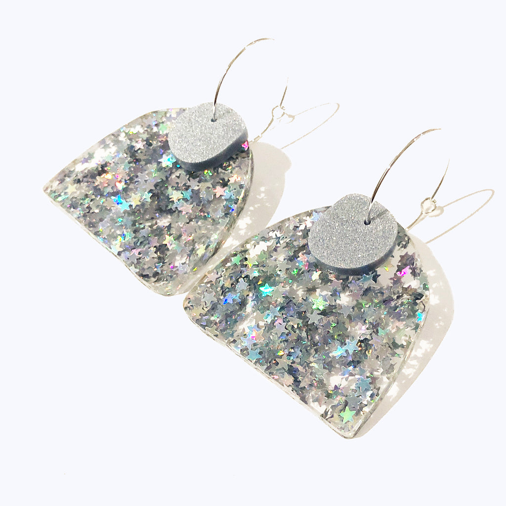 Super Sparkle Curve Earrings – Superstar