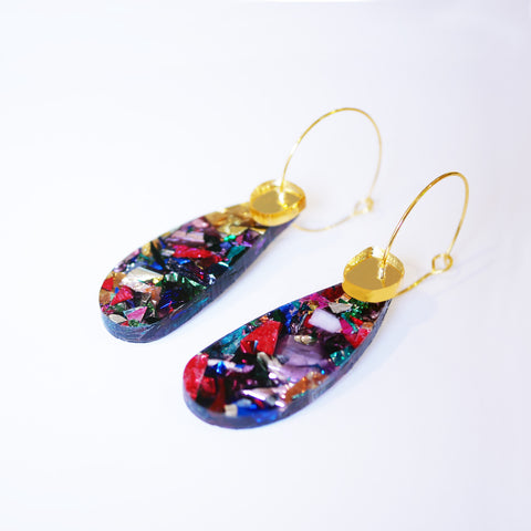 Super Sparkle Teardrop Earrings – Kaleidoscope