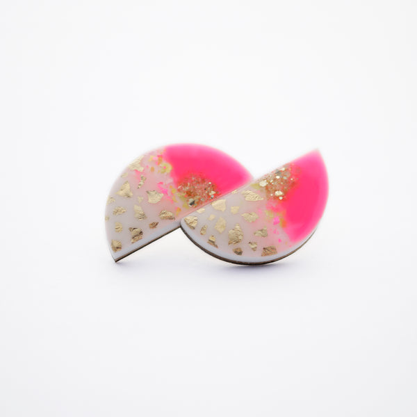 NEON Curve Earrings