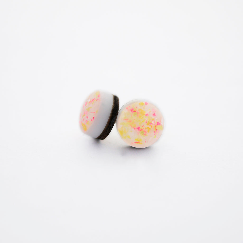 NEON Dot Stud Earrings