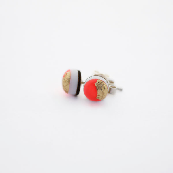 NEON Mini Stud Earrings