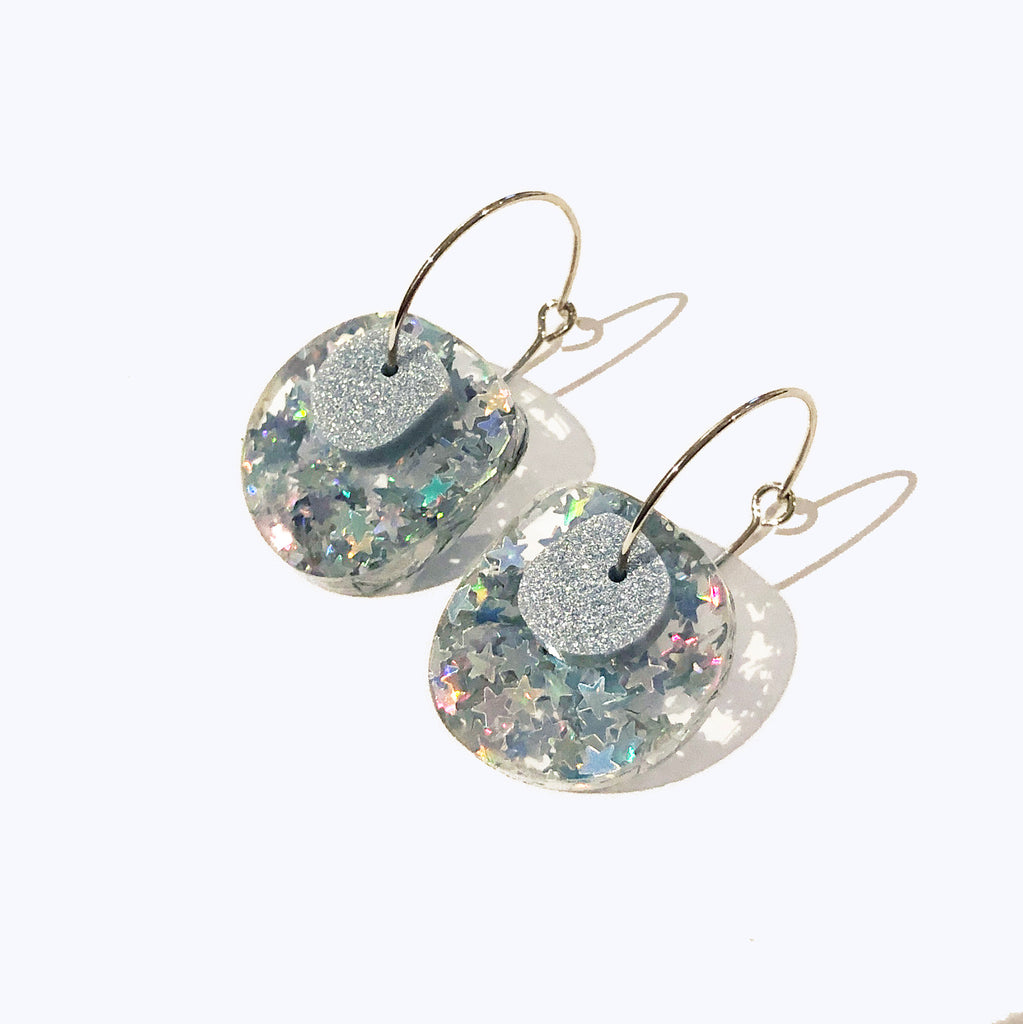 Super Sparkle Nugget Earrings – Superstar