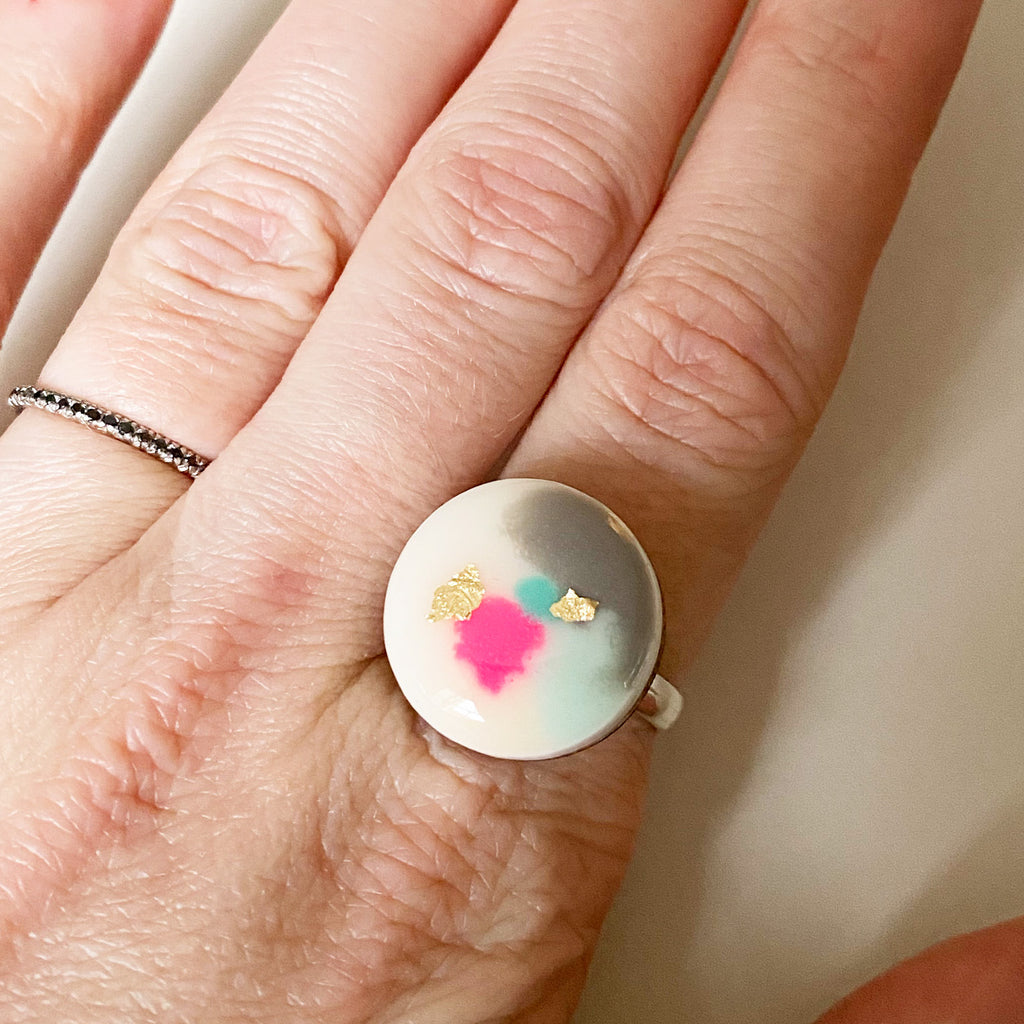 DREAM Dot Ring – second – slight fading